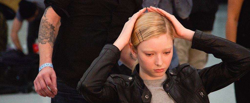 The Fashion Week Models Did Their Own Ponytails at This Show