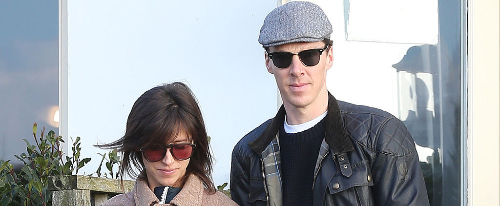 Benedict and Sophie Make Their Newlywed Debut — See Her Wedding Ring!