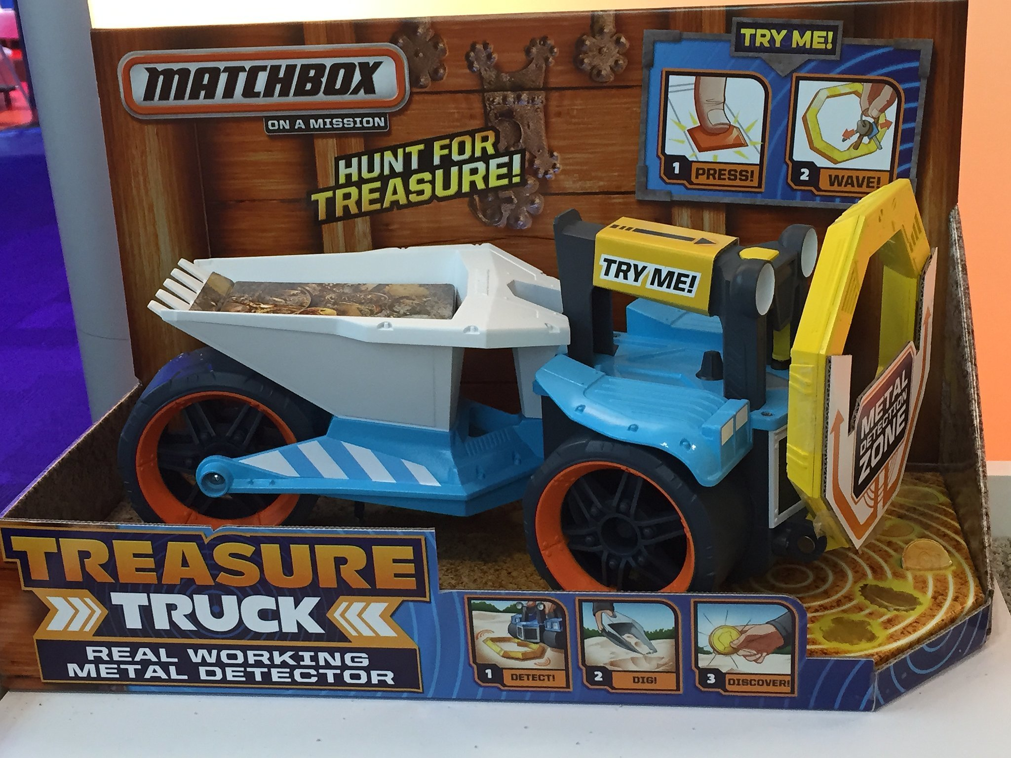 Matchbox Treasure Truck | Here's Your Peek Into 200+ Toys That Will ...: www.popsugar.com/moms/photo-gallery/36873067/image/36879515...