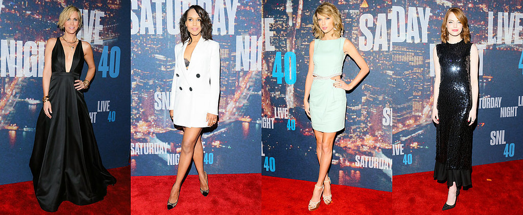 There's Nothing Funny About SNL's 40th Anniversary Red Carpet