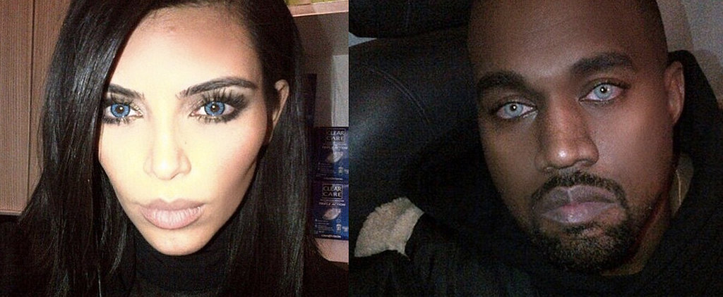 Would You Try Kim and Kanye's Latest Matchy-Matchy Beauty Trend?