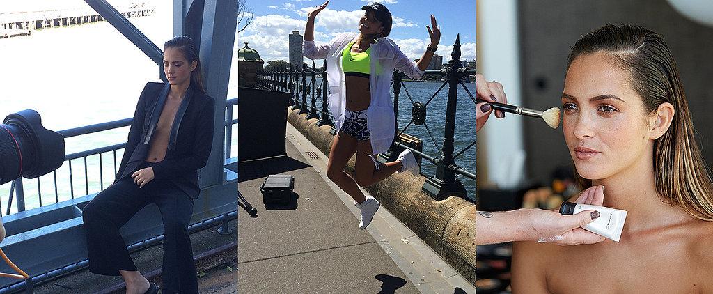 Come Behind-the-Scenes on POPSUGAR Australia's Shoot With Aisha Jade