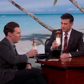 Benedict Cumberbatch's Jimmy Kimmel Interview After Wedding