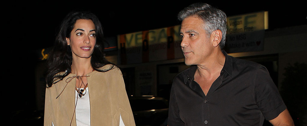 George Takes Amal Out on the Town For a Romantic Date