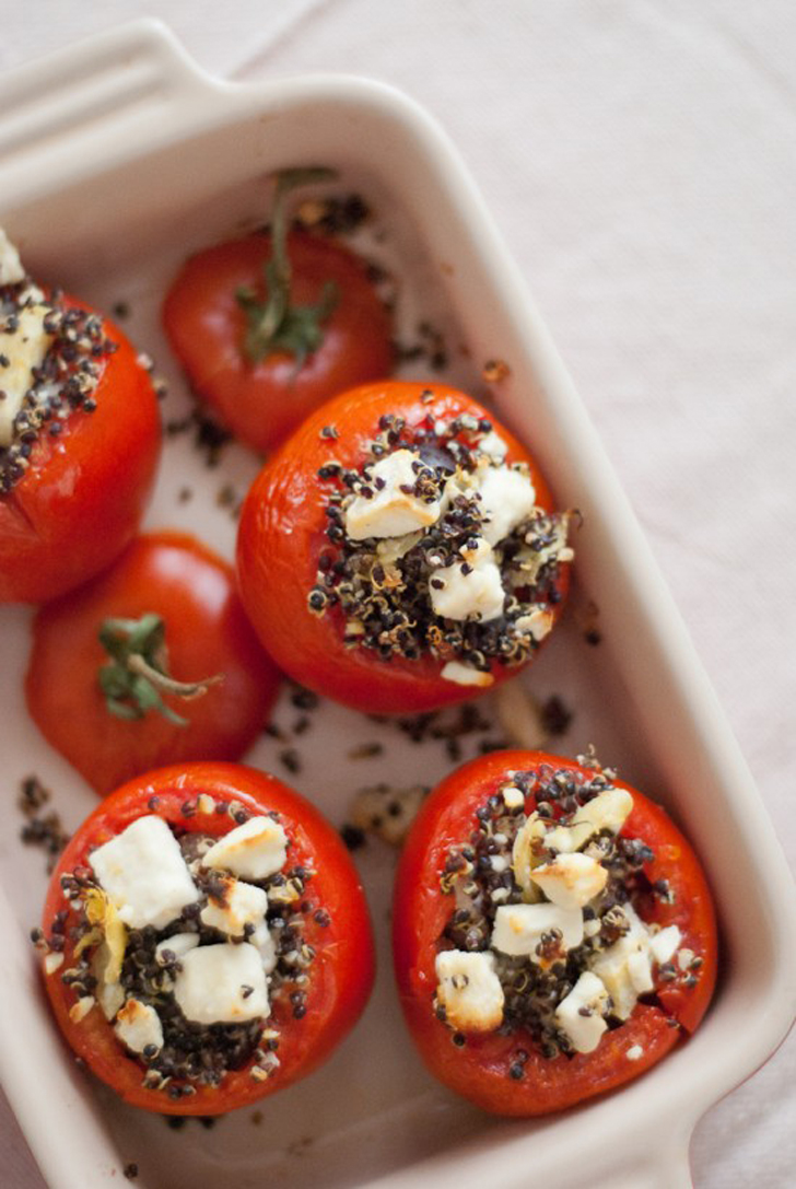 Mediterranean Stuffed Tomatoes With Quinoa | 26 Recipes ...