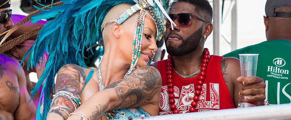 Amber Rose Shows Off Her Supersexy Moves at Carnival