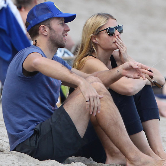 Gwyneth Paltrow and Chris Martin on Valentine's Day 2015