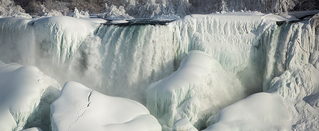 Niagara Falls Has Become the Most Stunning Winter Wonderland