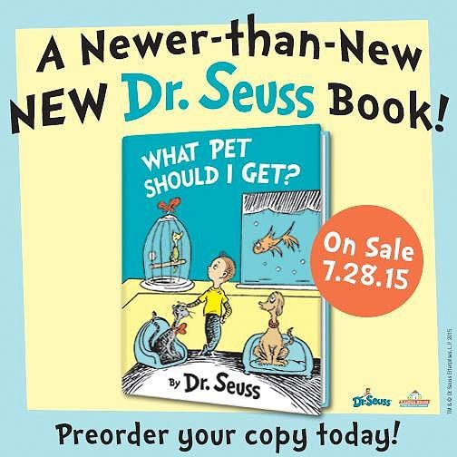 New Dr. Seuss Book Being Published