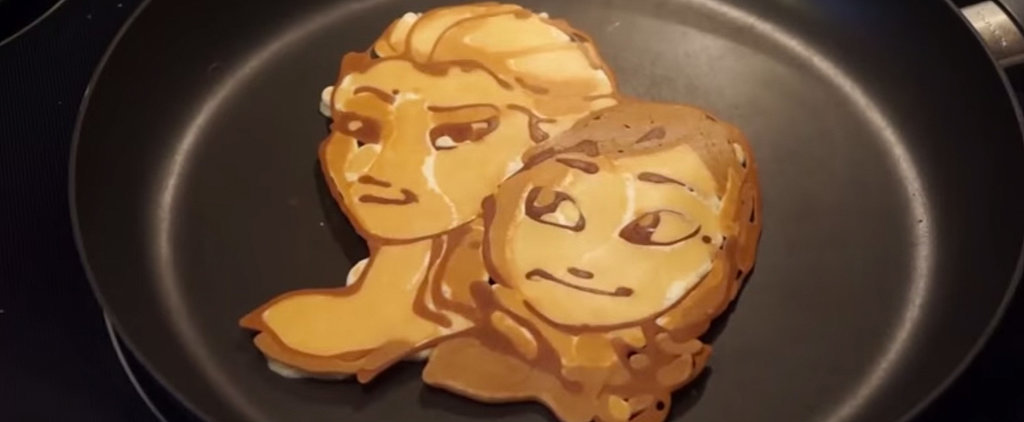 Your Favorite Disney Characters Made Entirely Out of Pancake Batter!