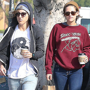 Kristen Stewart and Alicia Cargile Grab Coffee in LA