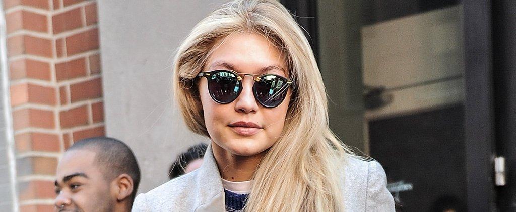 Don't Worry — Gigi Hadid Has a Messy Closet Too