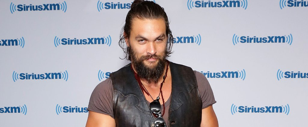 Here's Your First Look at Jason Momoa as Aquaman