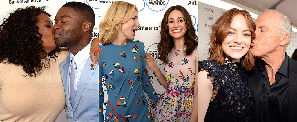 Celebrity Duos Bring Electric Energy to the Spirit Awards Pink Carpet