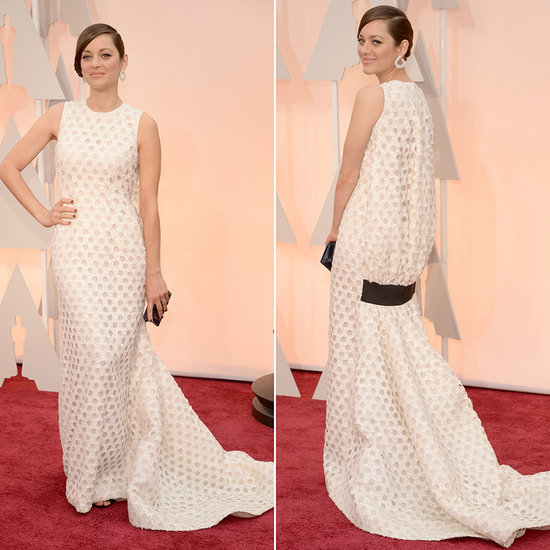 Marion Cotillard's Dress at the Oscars 2015