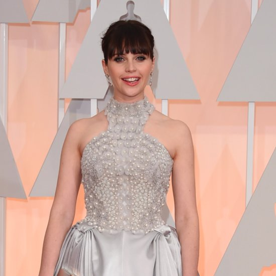Felicity Jones's Dress at the Oscars 2015