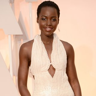 Lupita Nyong'o at the Oscars 2015 Pictures