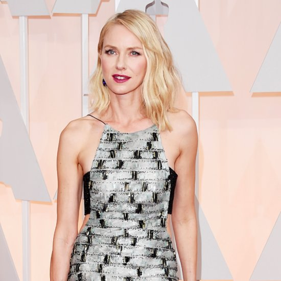 Poll: Naomi Watts Shines Bright in a Sparkly Silver Gown