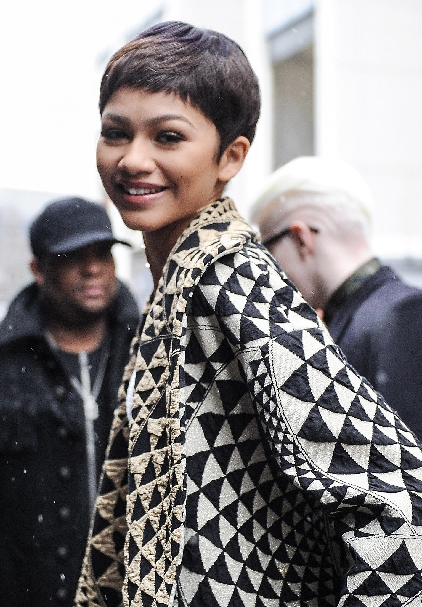 Zendaya at new york fashion week