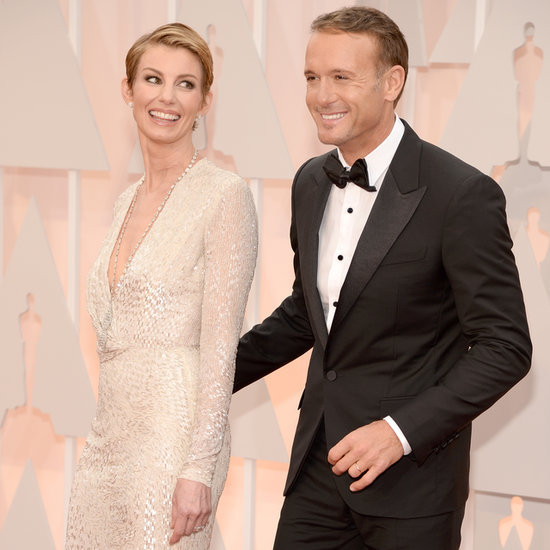 Faith Hill and Tim McGraw at the Oscars 2015