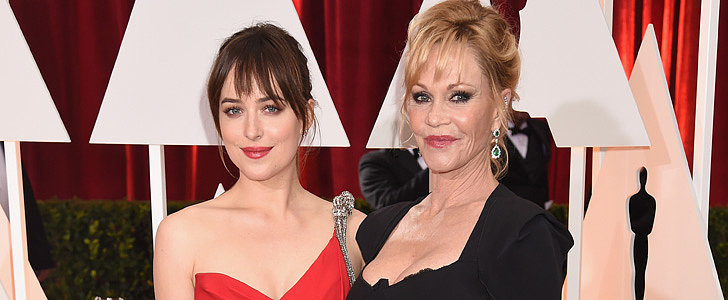 Melanie Griffith Got Really Awkward About Seeing Fifty Shades of Grey