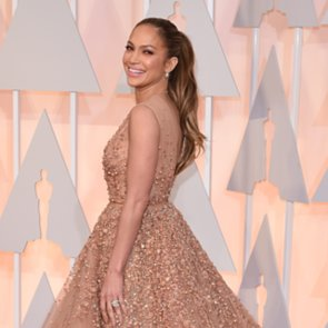 Jennifer Lopez in Elie Saab Dress at the 2015 Oscars