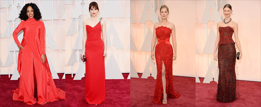Which Red Dress Was Truly on Fire?