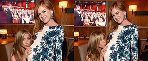 Jennifer Aniston Has a Ball With Isla Fisher's Baby Bump
