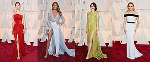 Red Carpet Glamour: See Who's Wearing What at the 2015 Oscars