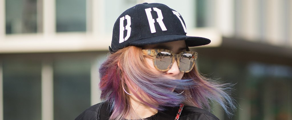 20 Fashion Girls Who Dare to Wear Rainbow Hair on the Streets