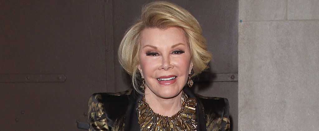 The Academy Explains Why Joan Rivers Was Not Honoured at the Oscars
