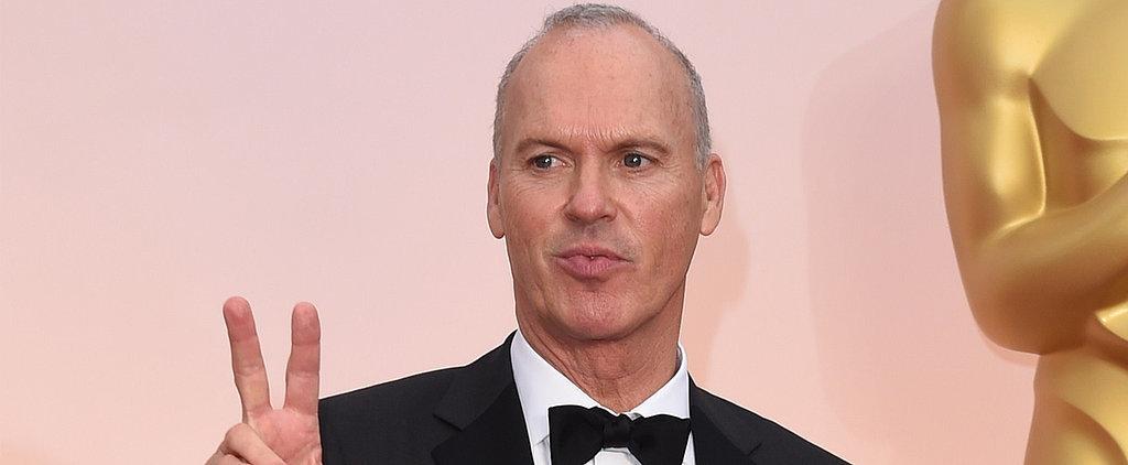 That Truly Sad Moment When Michael Keaton Put Away His Oscar Acceptance Speech