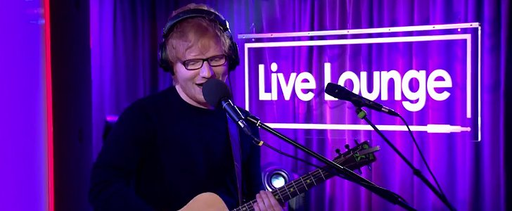 "Ed Sheeran's Cover of ""Dirrty"" Is the Best Thing You'll Hear Today — Seriously"