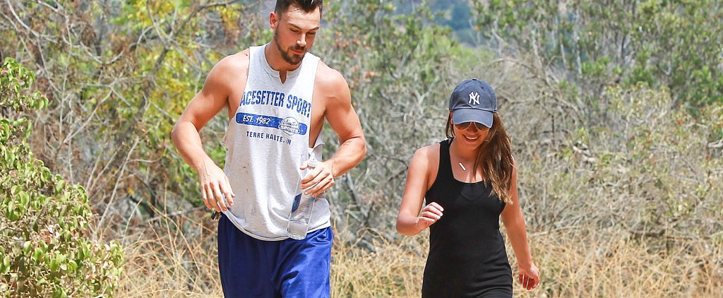 Lea Michele Isn't Taking Things Easy After Wrapping Glee — She's Busy Staying Fit!