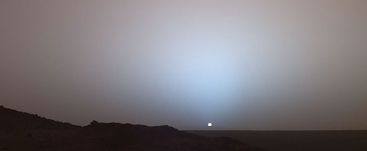 This Vine of the Sun Setting on Mars Is Insanely Beautiful