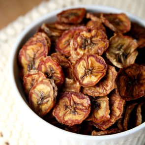 Healthy Baked Cinnamon Banana Chips Recipe