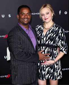 "Angela & Alfonso Ribeiro At 'Focus' Premiere: ""We Loved The Movie"""