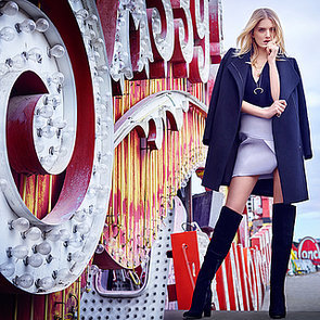 Kookai Shoot Lily Donaldson for Autumn Winter Campaign 2015