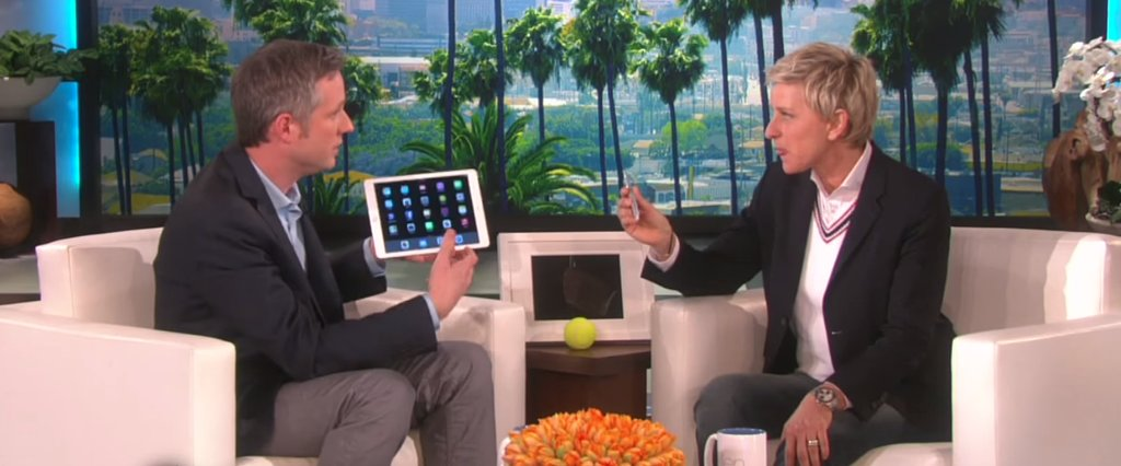 This iPad Magician on the Ellen Show Will Completely Blow You Away