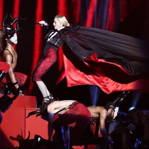 Video: Madonna Falls Off the Stage at 2015 Brit Awards
