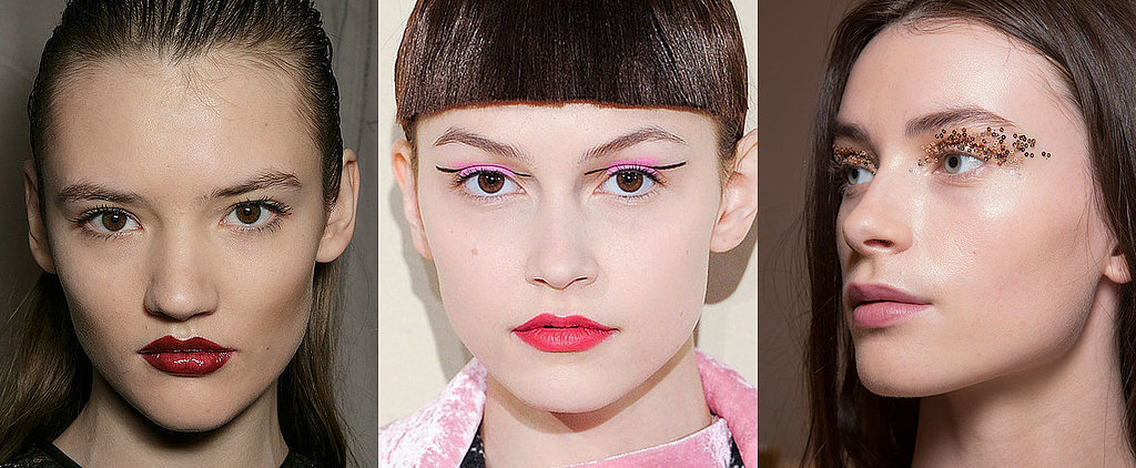 Sequined Eyes and Painted Faces Rock the London Runways