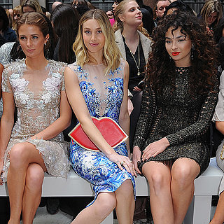London Fashion Week Front Row Celebrities