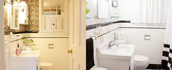 The Bathroom Makeover That Proves a Little Money Goes a Long Way
