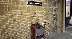 Platform 9 3/4 Is Real In New York City