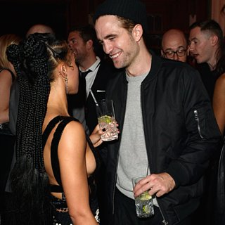 Robert Pattinson and FKA Twigs at Brit Awards Af