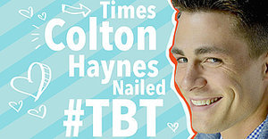 17 Times Colton Haynes Was #TBT Perfection