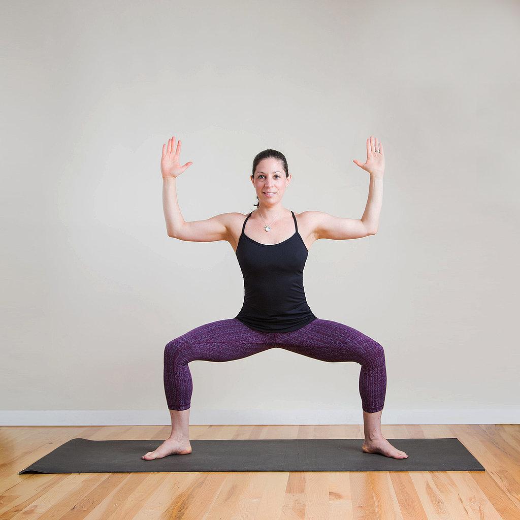muscleburning yoga poses popsugar fitness
