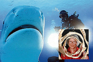 Badass Shark Scientist Eugenie Clark Dies At Age 92