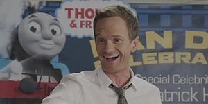 Neil Patrick Harris Loses His Mind Over Thomas The Tank Engine