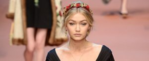 This May Be Gigi's Prettiest Runway Moment Ever